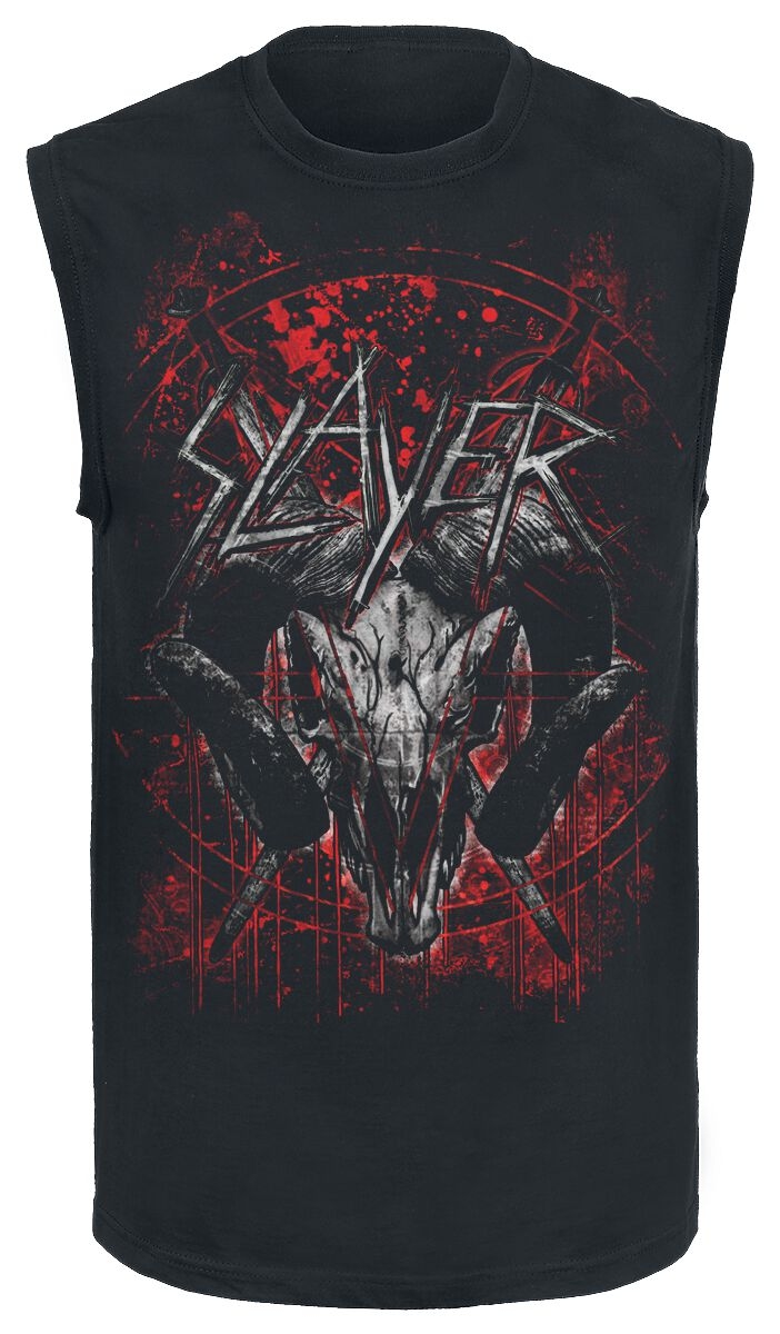 Image of   Slayer Mongo Goat Tanktop sort