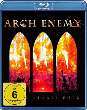 Image of   Arch Enemy As the stages burn! Blu-ray standard