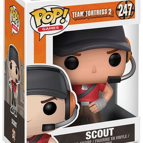 Figurine Pop! Scout Team Fortress 2