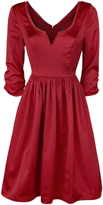 Outlander Party Dress Kleid rot