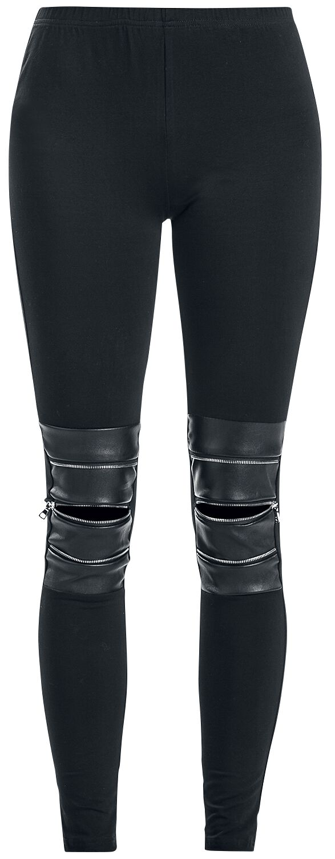 Image of   Black Premium by EMP Act, Not Think Leggings sort
