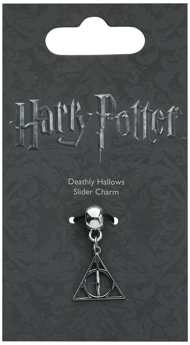 Image of   Harry Potter Deathly Hallows Slider Charm Vedhæng sølvfarvet