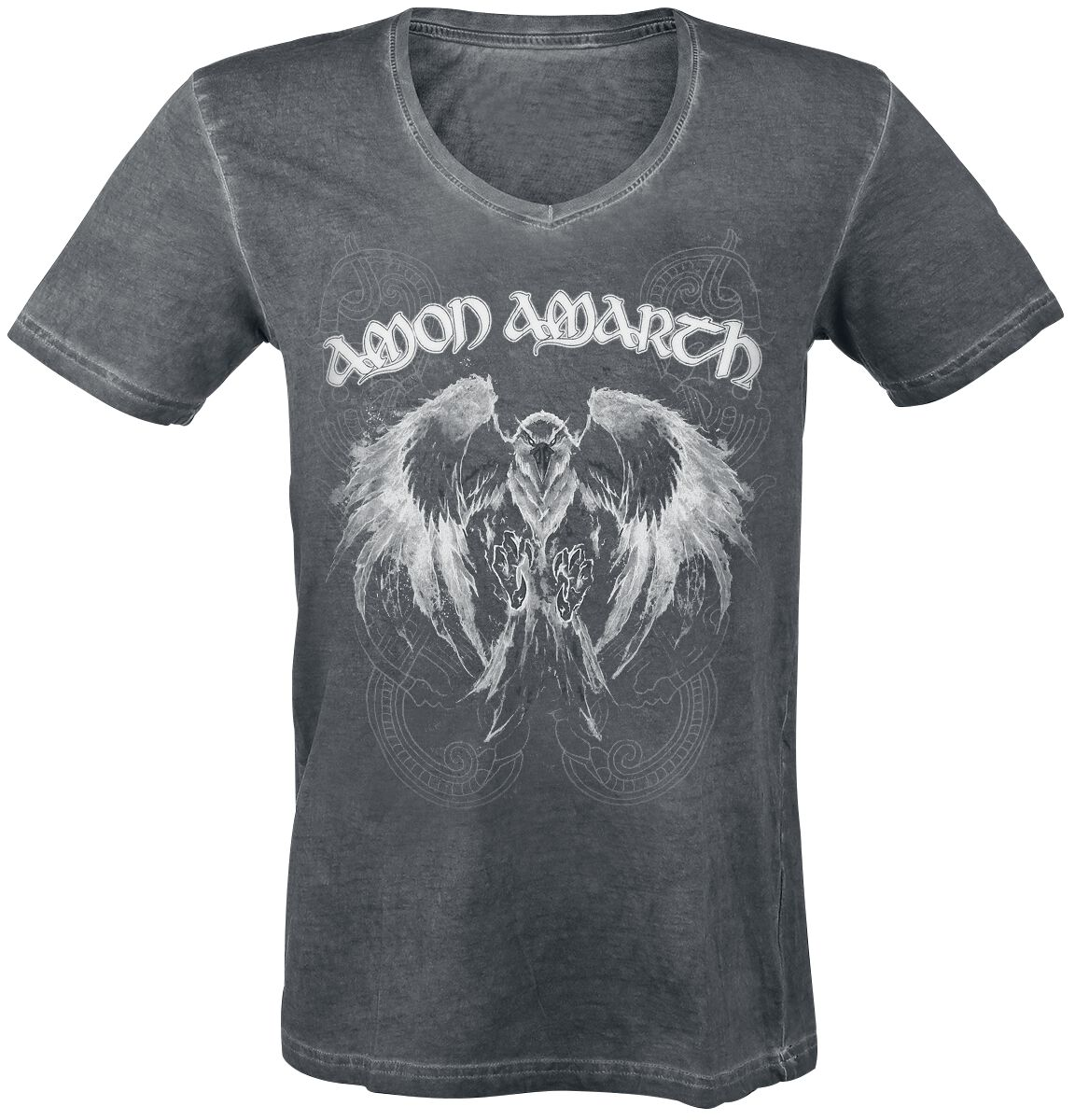 Image of   Amon Amarth Shape Shifter T-Shirt mørk grå