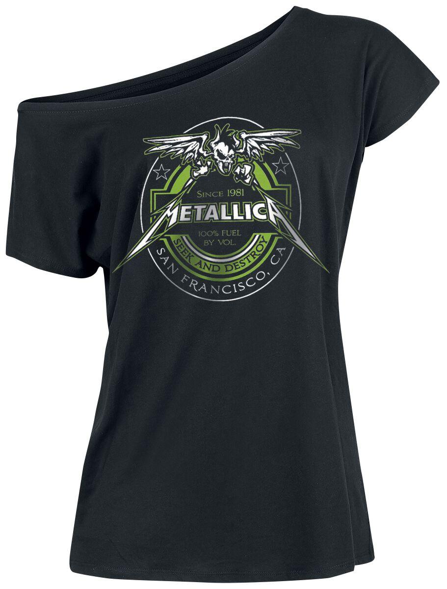 Metallica 100% Fuel - Frauen - schwarz