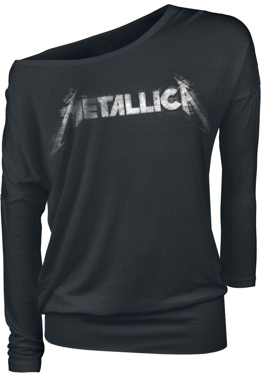 Metallica Spiked Logo - Frauen - schwarz