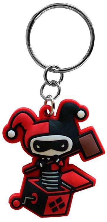 Merch dla Fanów - Breloczki do kluczy - Breloczek do kluczy Harley Quinn Harley in the Box Breloczek do kluczy standard - 358693