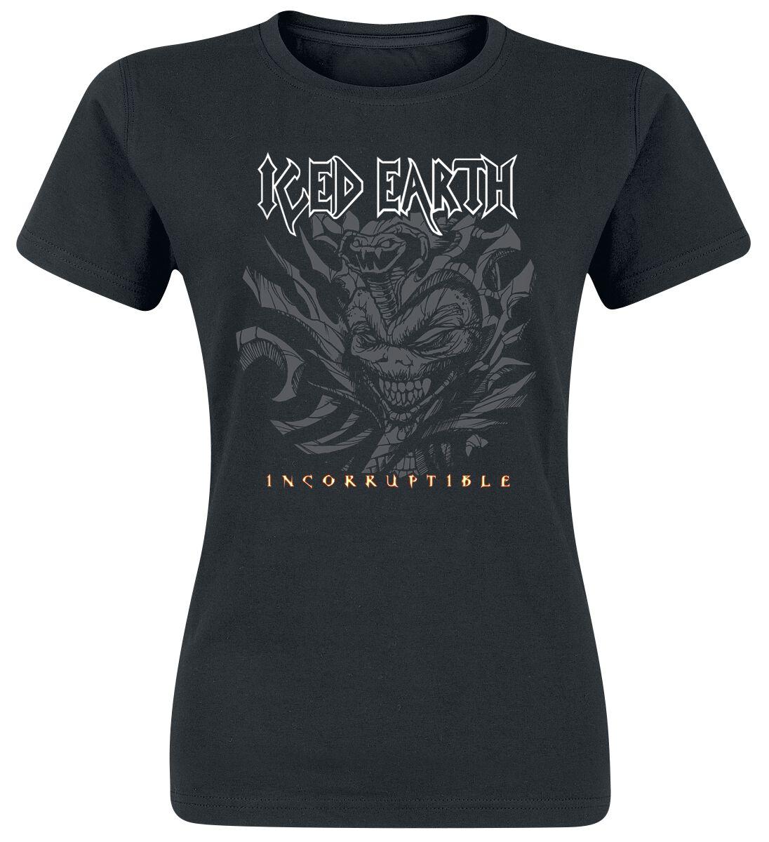 Zespoły - Koszulki - Koszulka damska Iced Earth Incorruptible Koszulka damska czarny - 358824