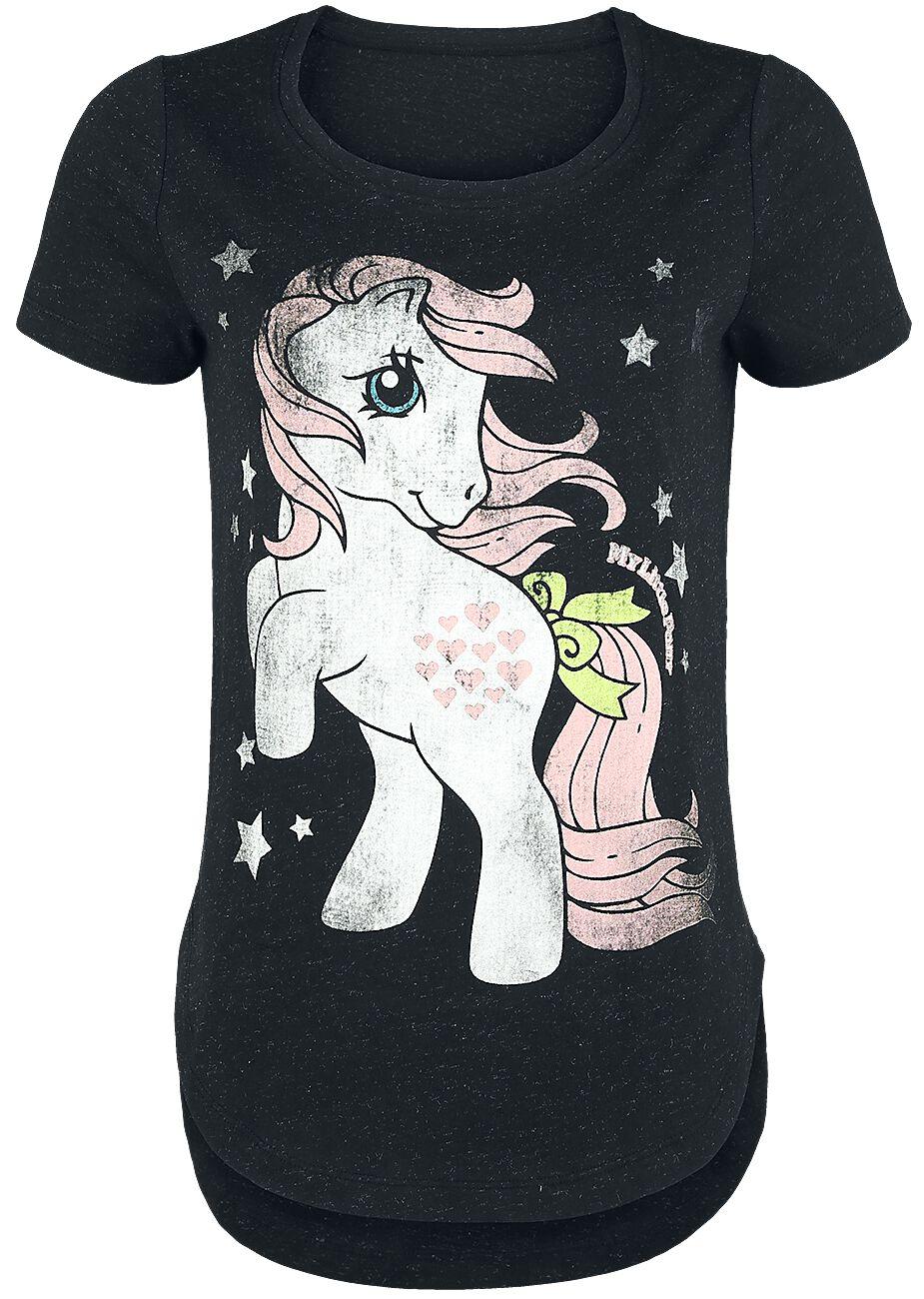 My Little Pony Stars Girl-Shirt schwarz meliert