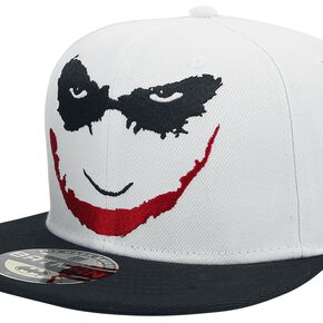 Batman Casquette The Dark Knight Joker´S Smile Blanc