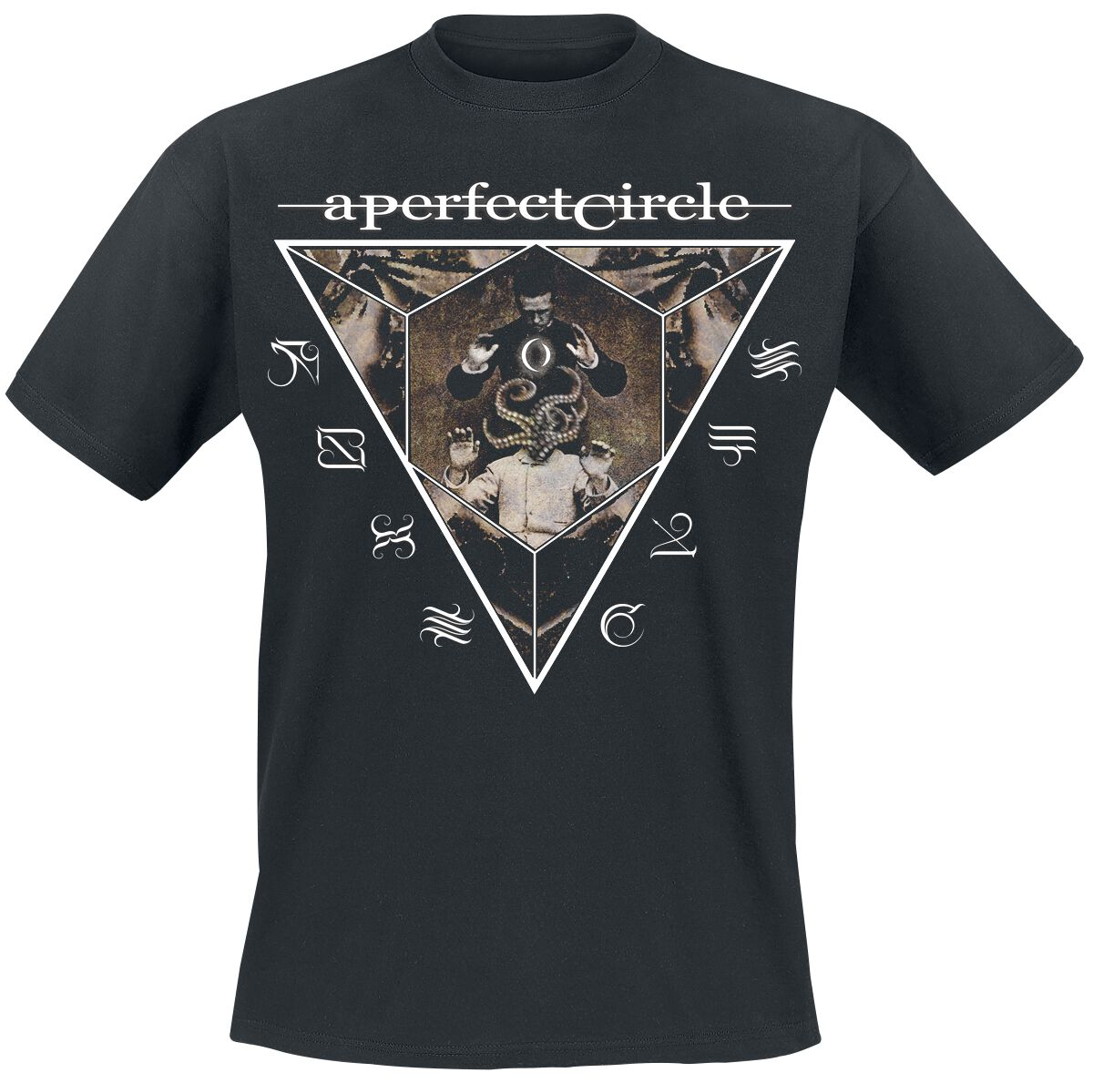 Zespoły - Koszulki - T-Shirt A Perfect Circle Outsider T-Shirt czarny - 358916