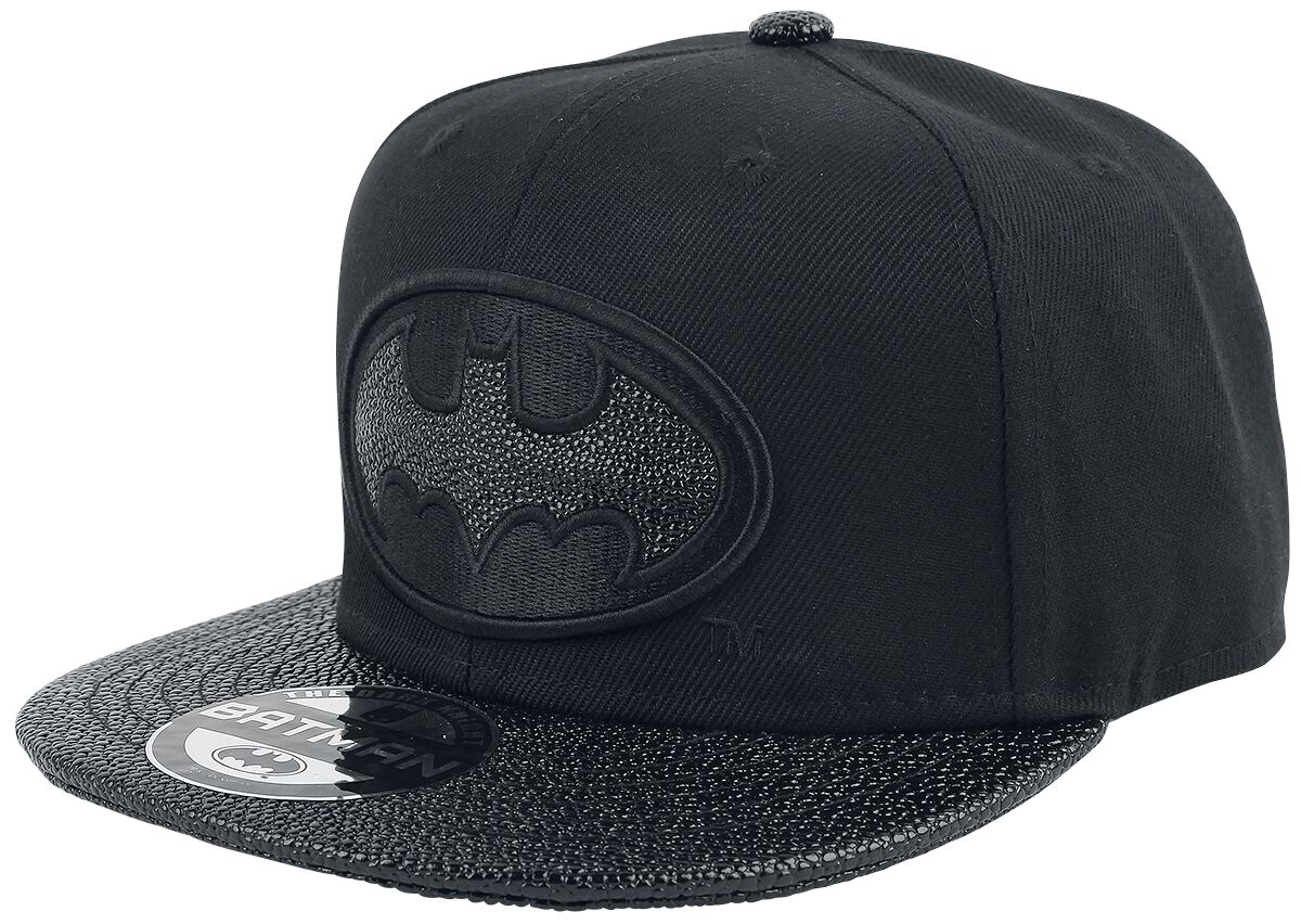 Image of   Batman Black Logo Snapback Cap sort