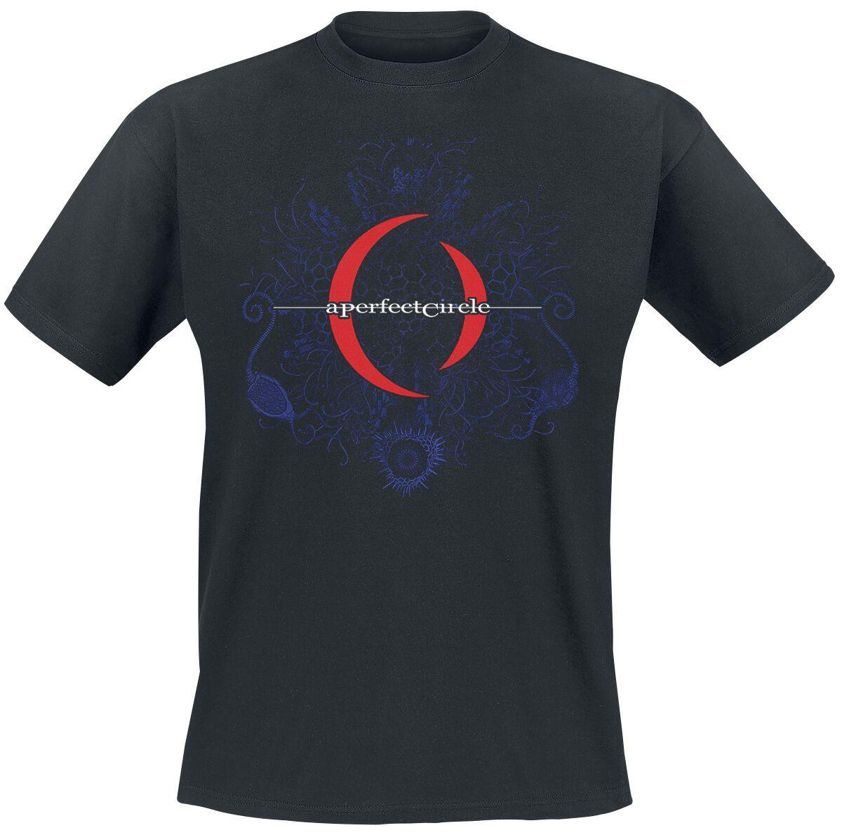 Zespoły - Koszulki - T-Shirt A Perfect Circle Mandala T-Shirt czarny - 358918