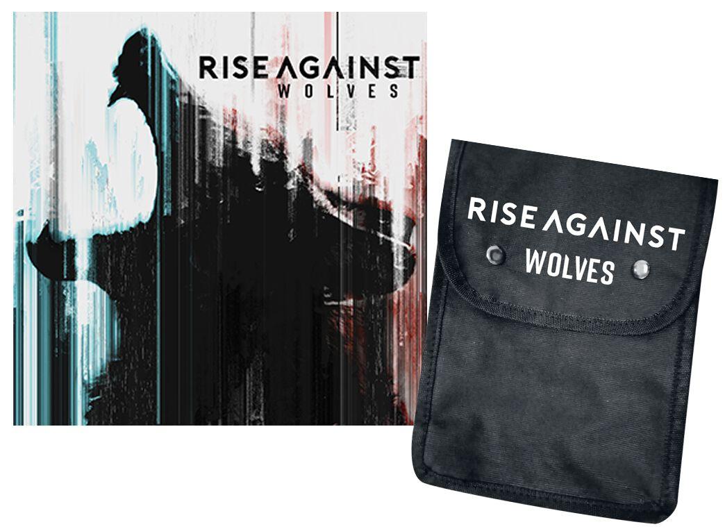 Image of   Rise Against Wolves CD & bæltetaske standard