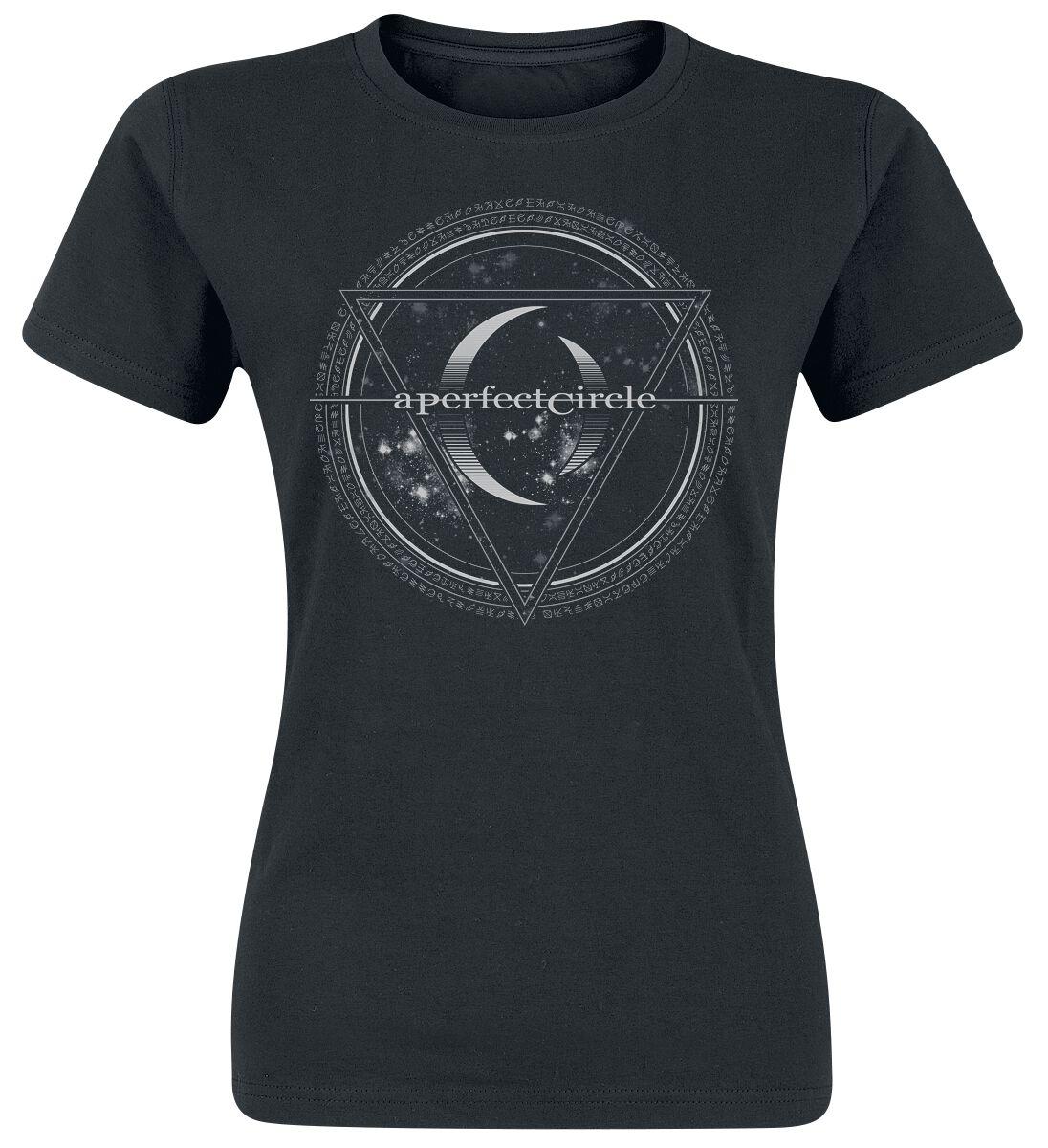 Zespoły - Koszulki - Koszulka damska A Perfect Circle Sigil Koszulka damska czarny - 358937