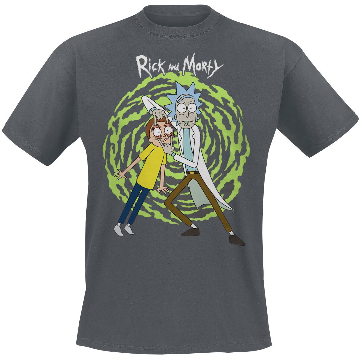 Image of   Rick And Morty Spiral T-Shirt koks