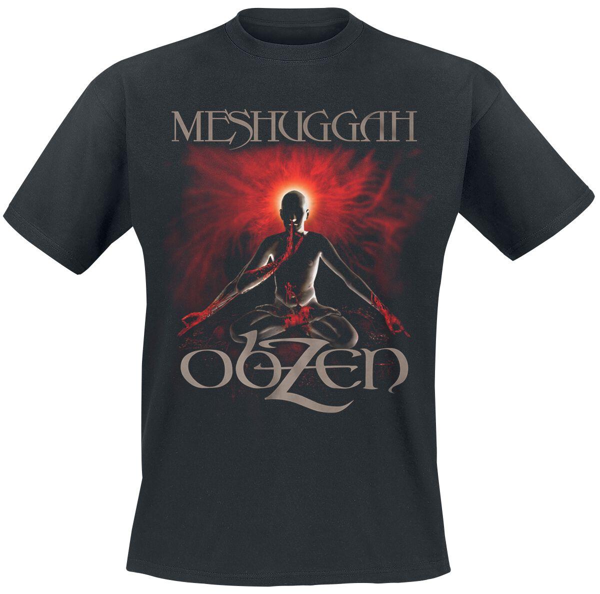 Zespoły - Koszulki - T-Shirt Meshuggah Obzen T-Shirt czarny - 358979
