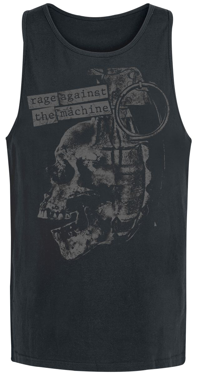 Zespoły - Topy - Tanktop Rage Against The Machine Grenade Tanktop czarny - 359009