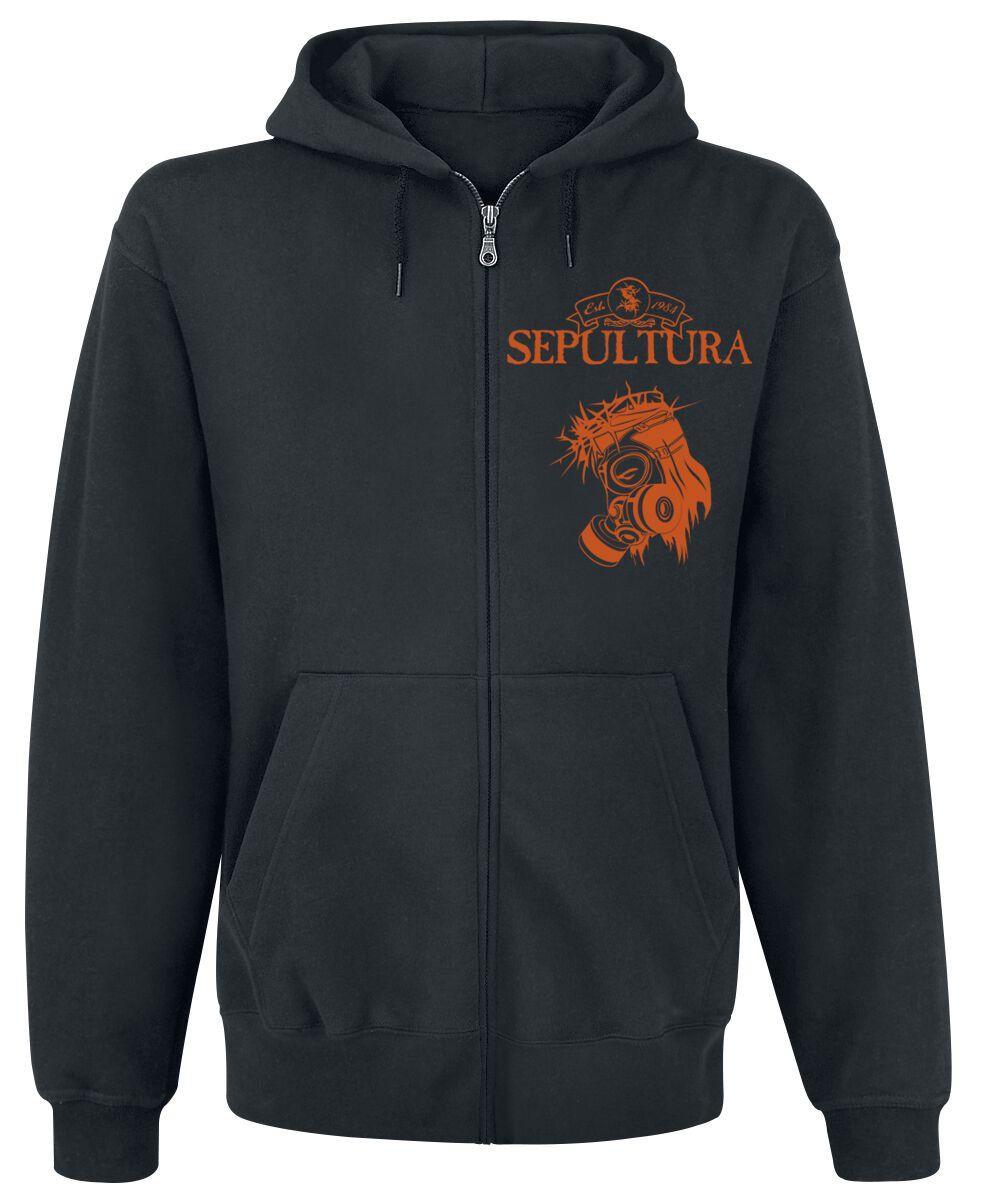Zespoły - Bluzy z kapturem - Bluza z kapturem rozpinana Sepultura Arise Bluza z kapturem rozpinana czarny - 359129