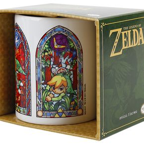 The Legend Of Zelda Vitraux Mug blanc