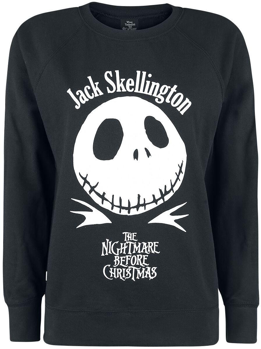 Image of   The Nightmare Before Christmas Framed Girlie sweater sort