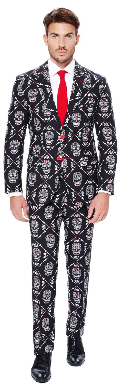 Fun Shirts - Maski i Kostiumy - Kostium OppoSuits Haunting Hombre Kostium standard - 359209