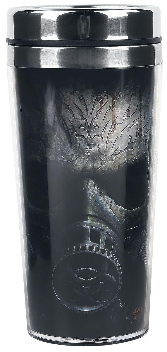 Image of   Spiral Bio-Skull Kaffekop multifarvet