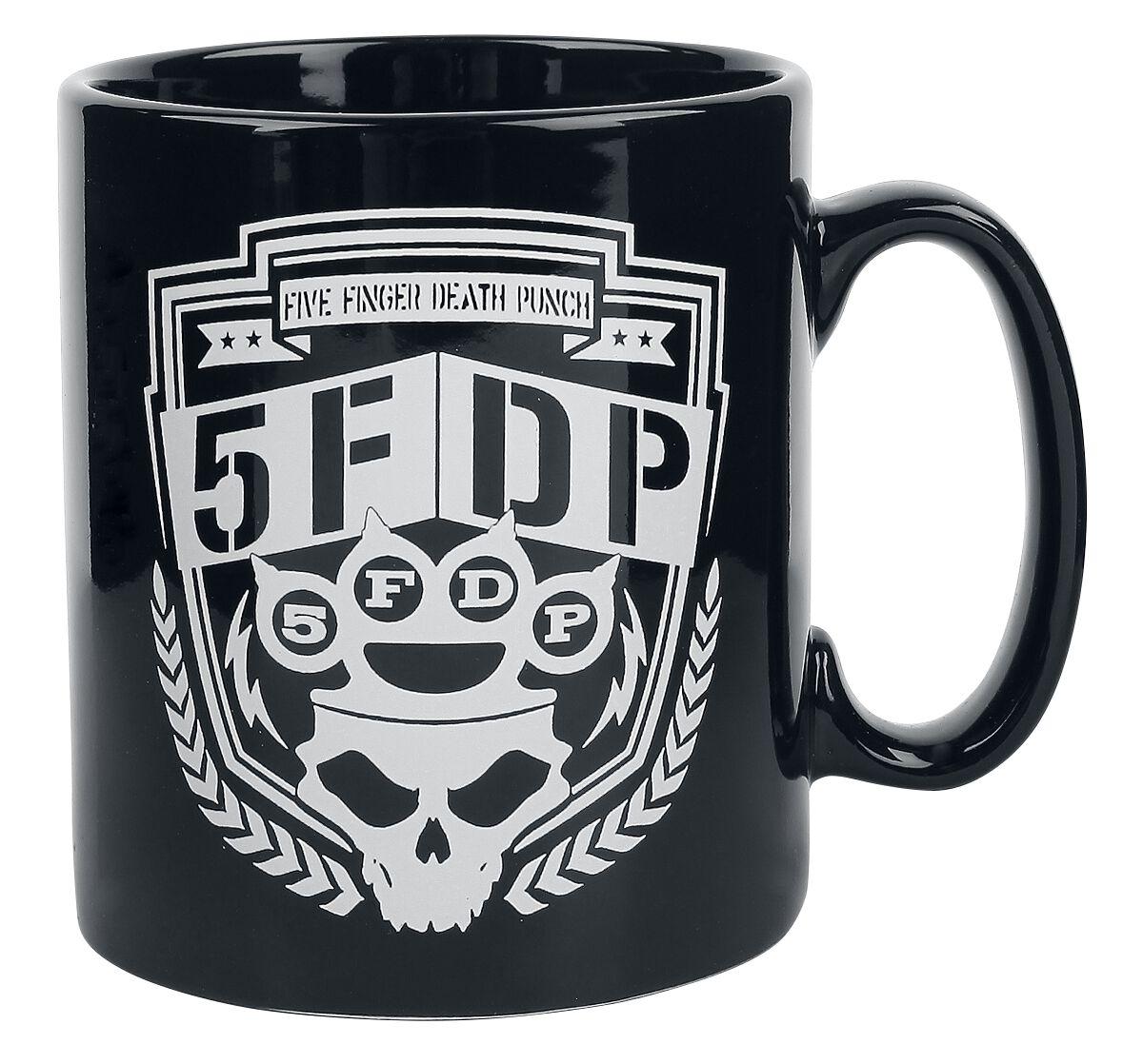 Image of   Five Finger Death Punch Shield Krus sort