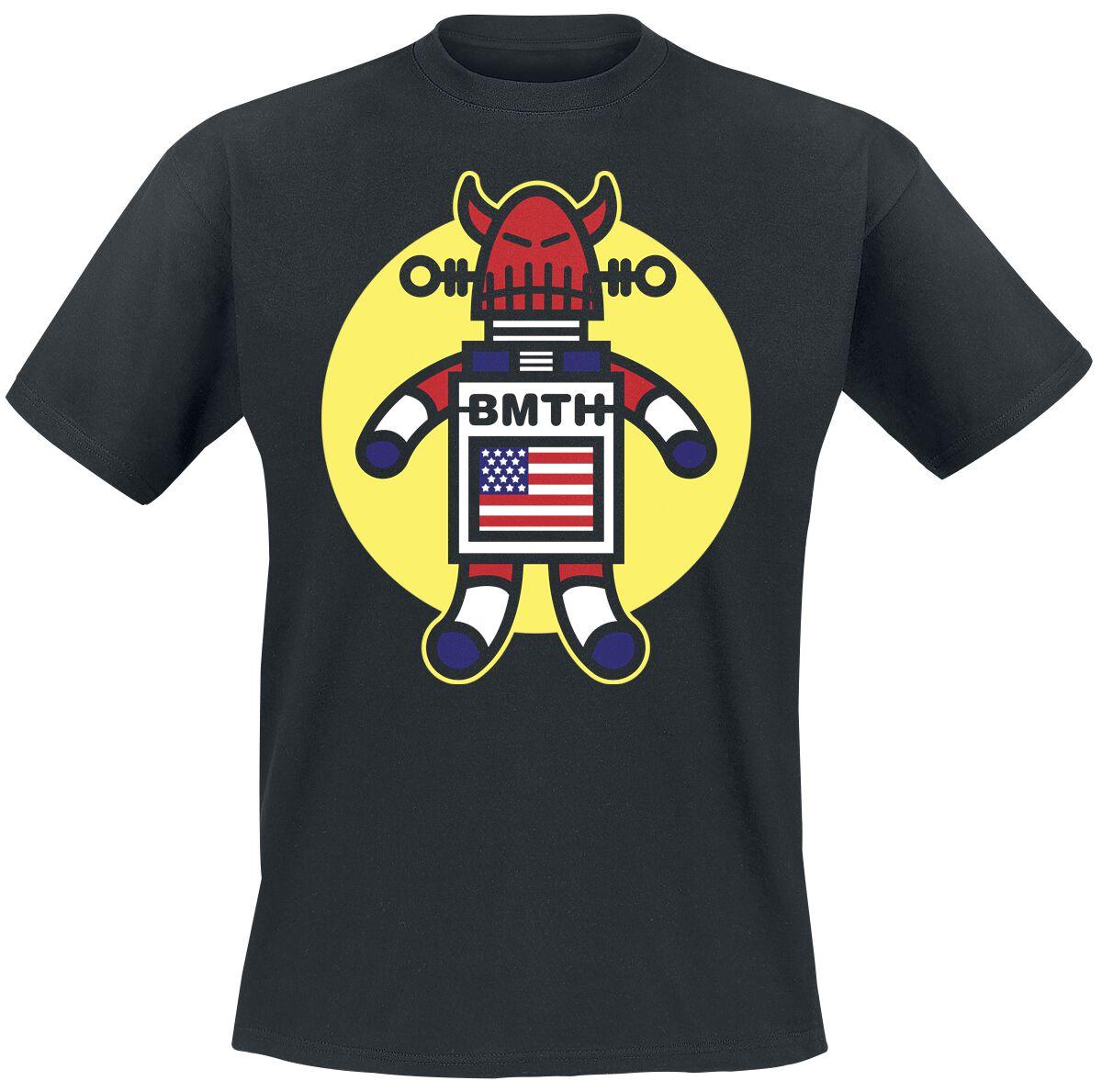 Image of   Bring Me The Horizon Evil Robot T-Shirt sort