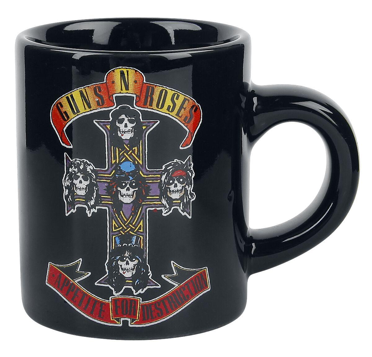 Image of   Guns N' Roses Appetite - Espressokop Krus sort