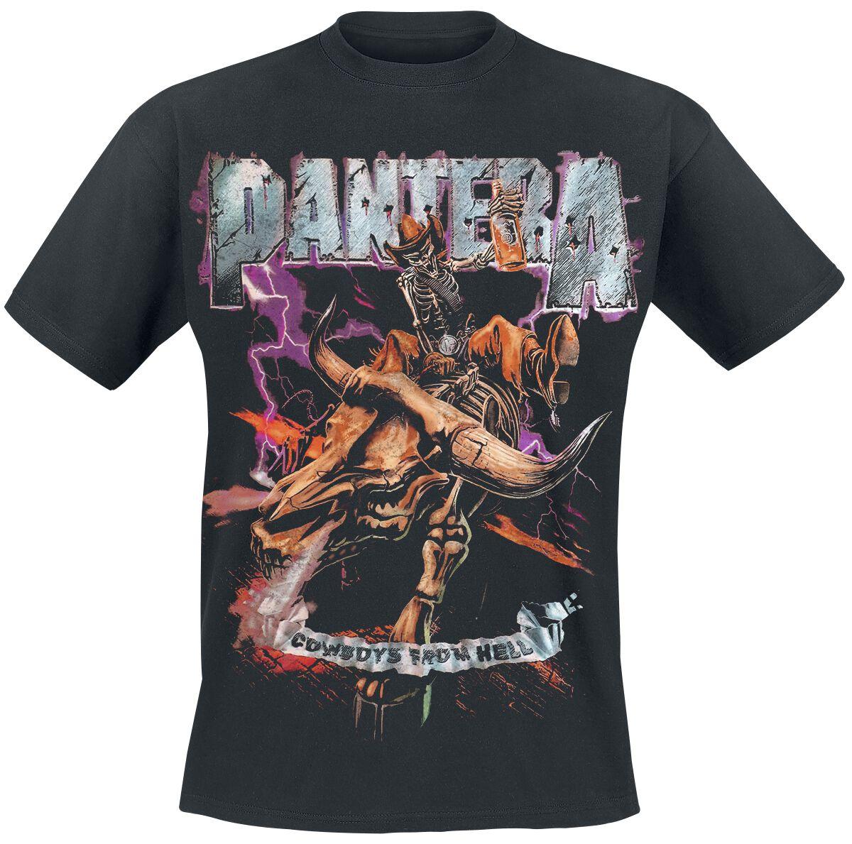 Zespoły - Koszulki - T-Shirt Pantera Cowboys From Hell 1990 T-Shirt czarny - 359495
