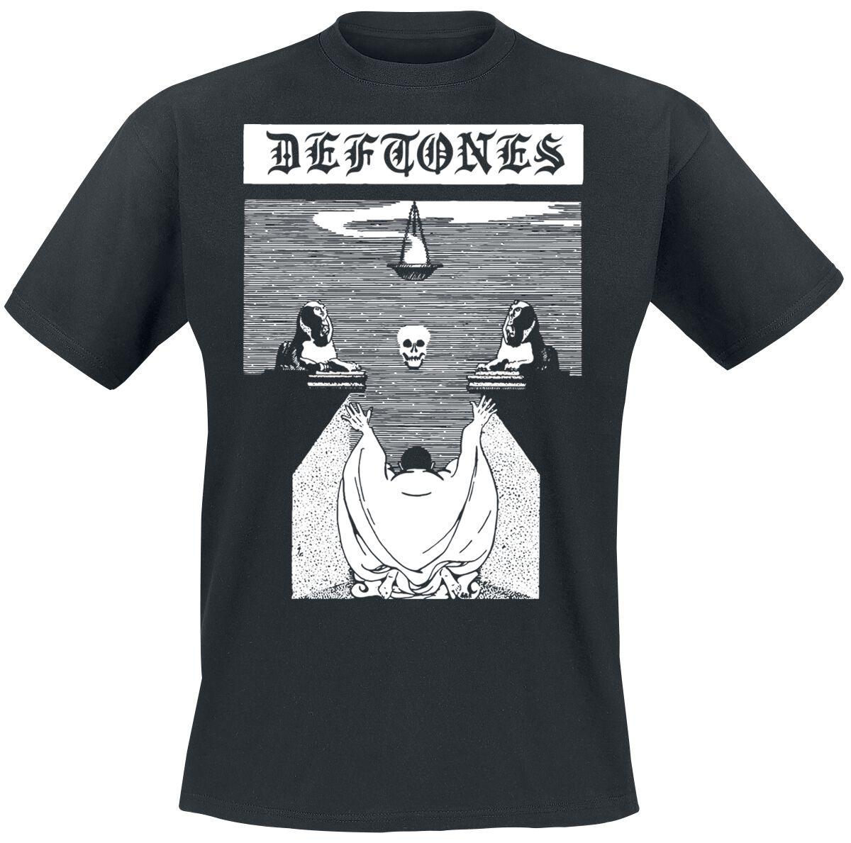 Zespoły - Koszulki - T-Shirt Deftones Ceremony T-Shirt czarny - 359516