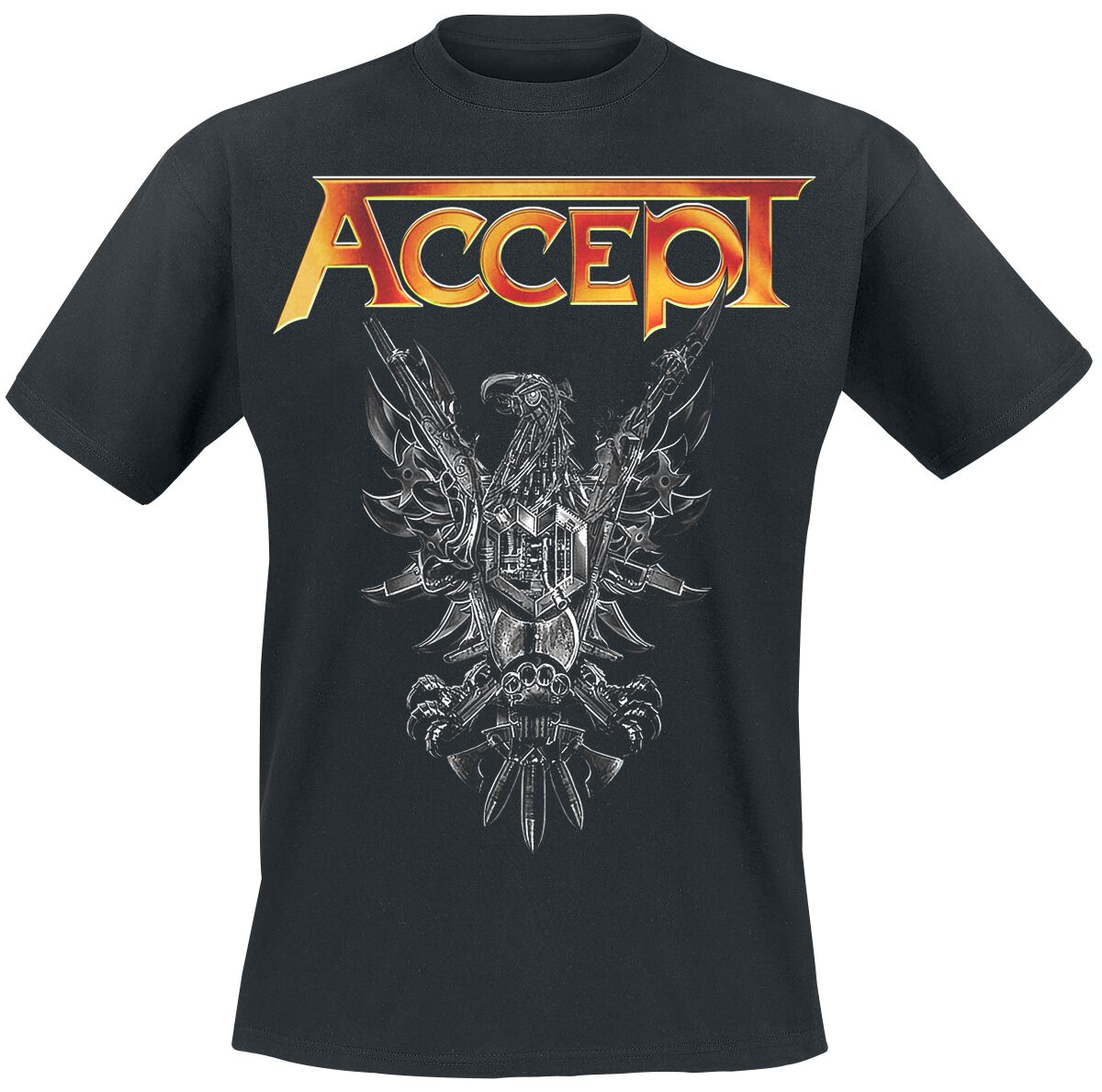 Image of   Accept Rise Of Chaos T-Shirt sort