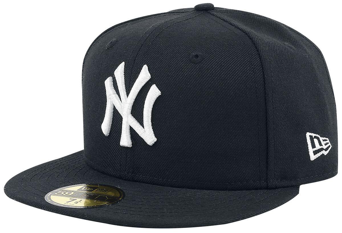 Basics - Czapki i Kapelusze - Czapka New Era New Era 59Fifty MLB Basic NY Cap Czapka New Era czarny - 359556