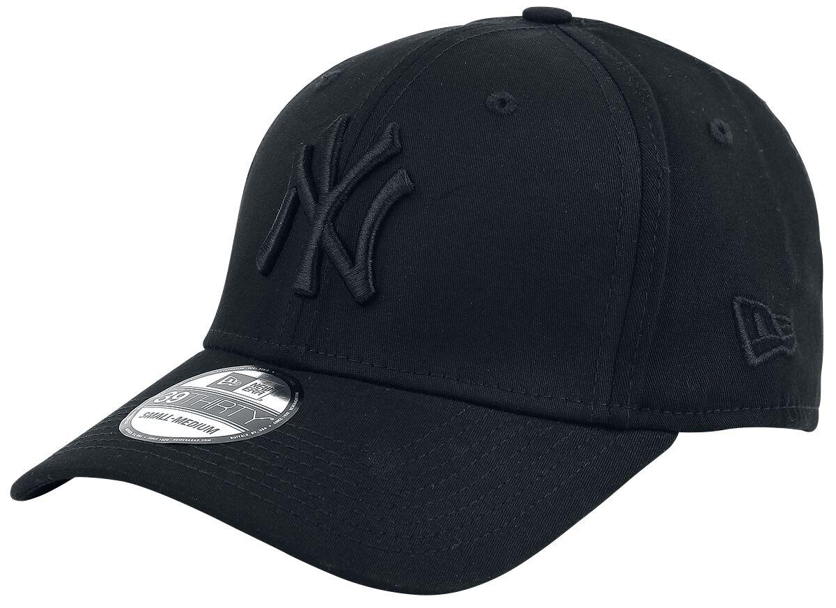 Basics - Czapki i Kapelusze - Czapka New Era New Era 39Thirty Basic MLB New York Yankees Czapka New Era czarny - 359585