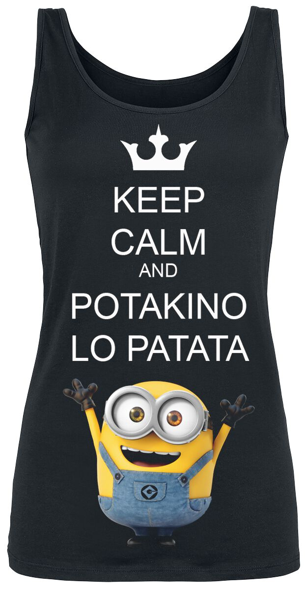 Image of   Minions Potakino Lo Patata Girlie top sort
