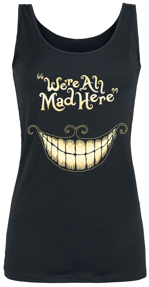 Image of   Alice i Eventyrland Filurkatten - Mad Mouth Girlie top sort