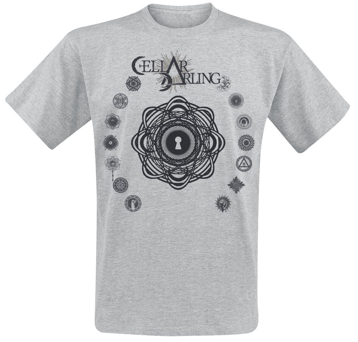 Zespoły - Koszulki - T-Shirt Cellar Darling This Is The Sound T-Shirt odcienie szarego - 359605