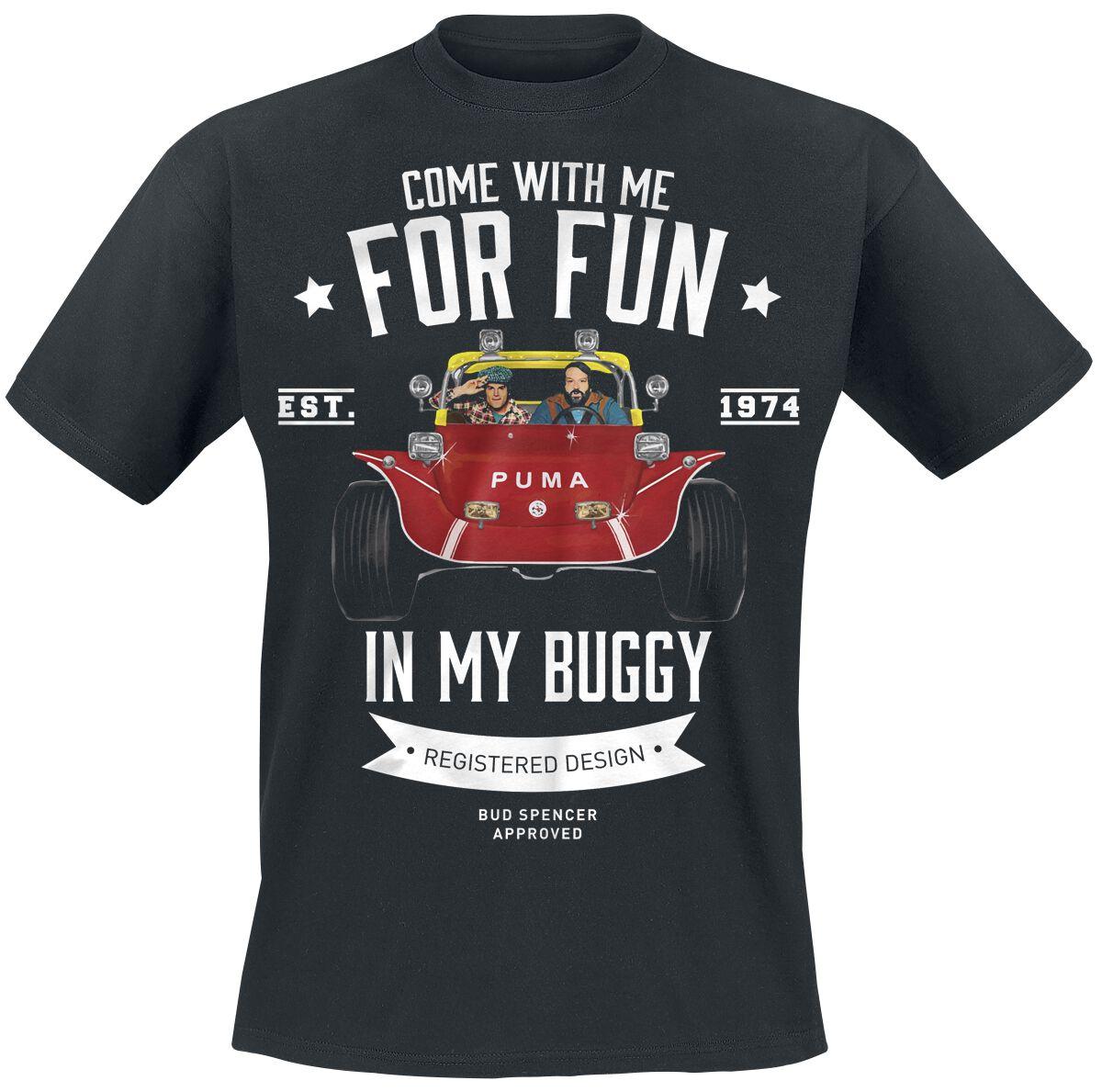 Merch dla Fanów - Koszulki - T-Shirt Bud Spencer Buggy T-Shirt czarny - 359675