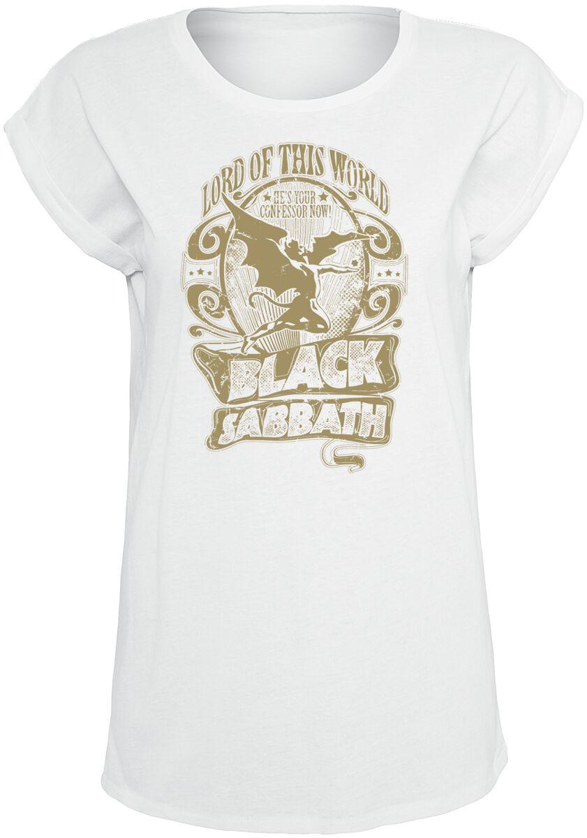 Zespoły - Koszulki - Koszulka damska Black Sabbath Lord Of This World Koszulka damska biały - 359723