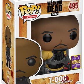 The Walking Dead SDCC 2017 - T-Dog Vinyl Figure Figurine de collection Standard