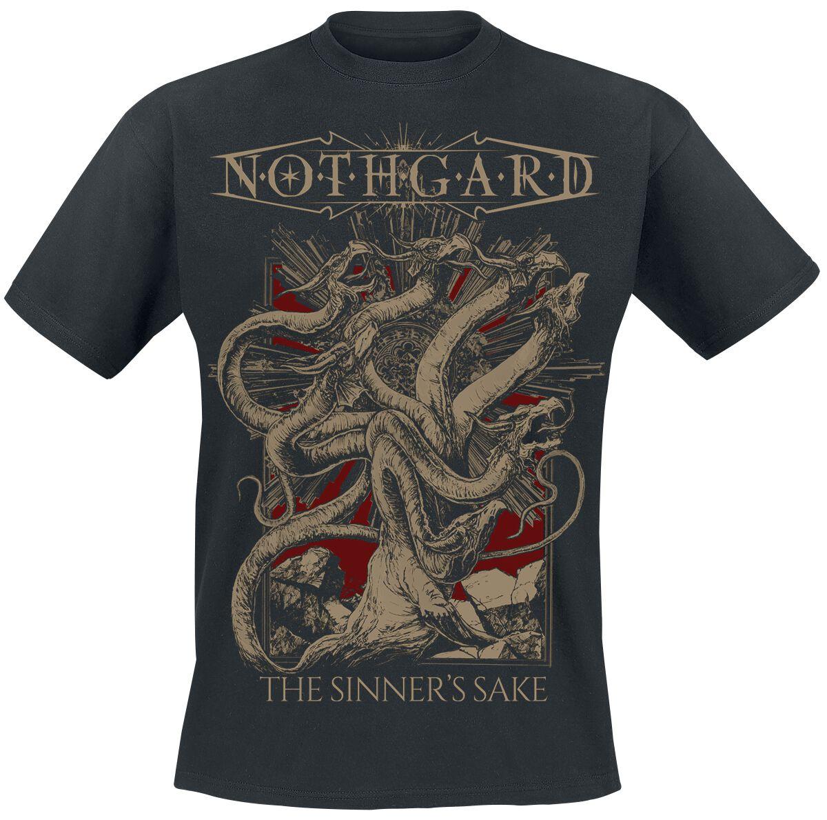 Zespoły - Koszulki - T-Shirt Nothgard The sinner's sake T-Shirt czarny - 359787