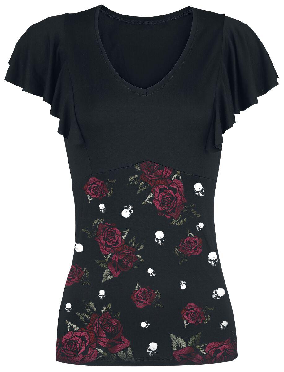 Image of   Alchemy England Roses Death Girlie trøje sort