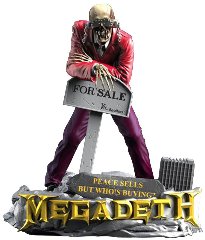Megadeth Vic Rattlehead Statue Standard
