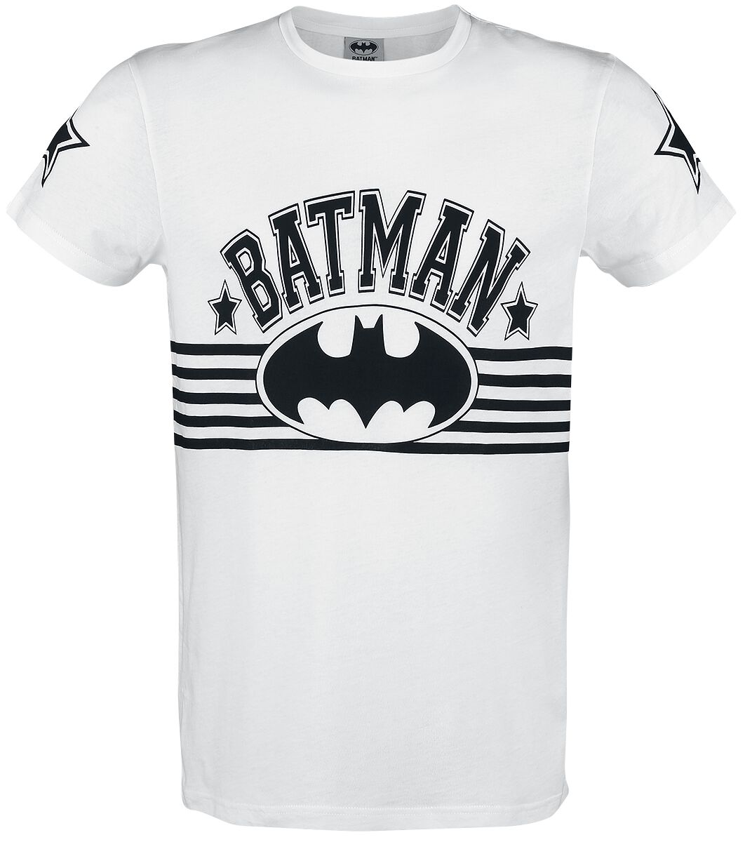 Image of   Batman Stars T-Shirt hvid