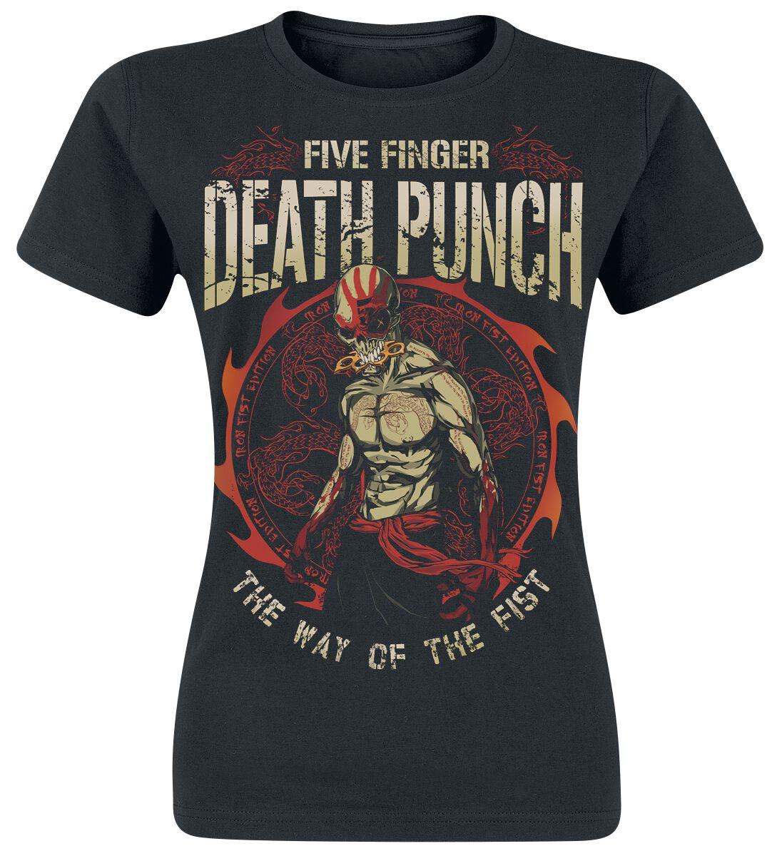 Image of   Five Finger Death Punch Steel Serpent Girlie trøje sort