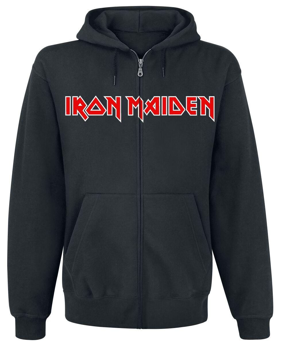 Zespoły - Bluzy z kapturem - Bluza z kapturem rozpinana Iron Maiden Fear Of The Dark Live Bluza z kapturem rozpinana czarny - 359922