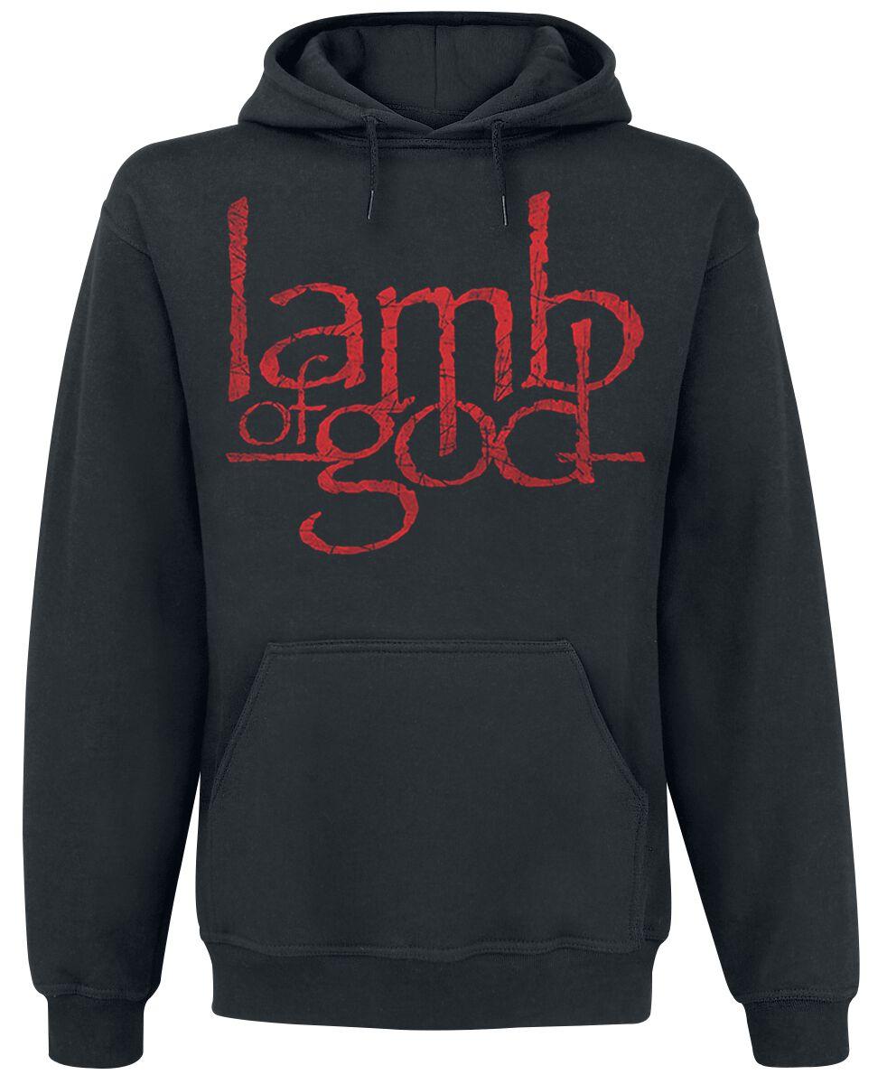 Zespoły - Bluzy z kapturem - Bluza z kapturem Lamb Of God Snake & Eagle Bluza z kapturem czarny - 359938