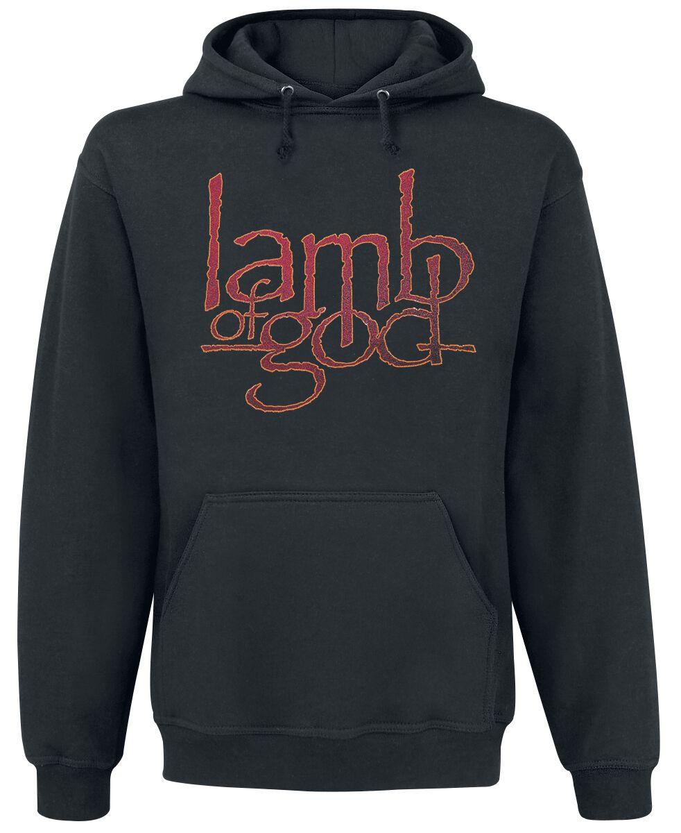 Zespoły - Bluzy z kapturem - Bluza z kapturem Lamb Of God Vulture Bluza z kapturem czarny - 359941