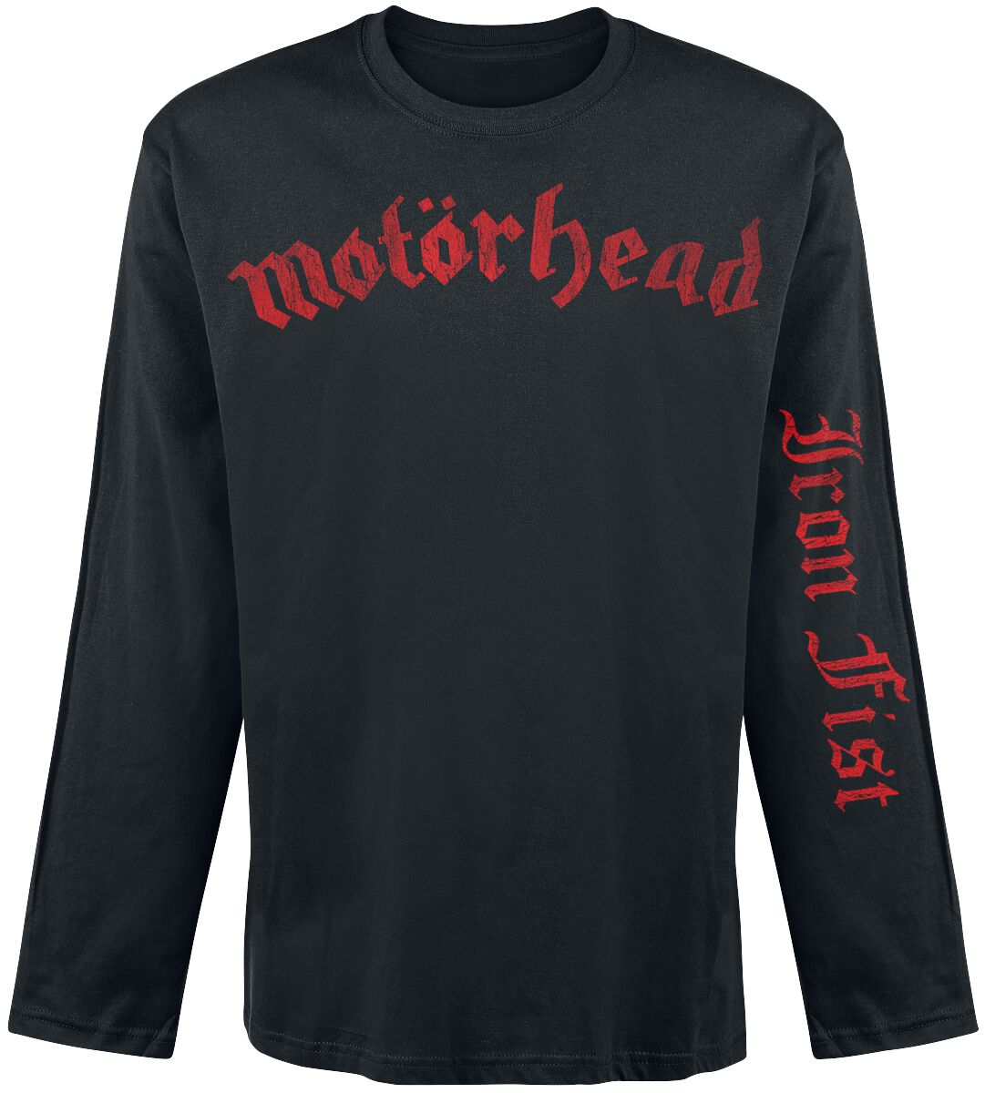 Image of   Motörhead Iron fist Langærmet sort