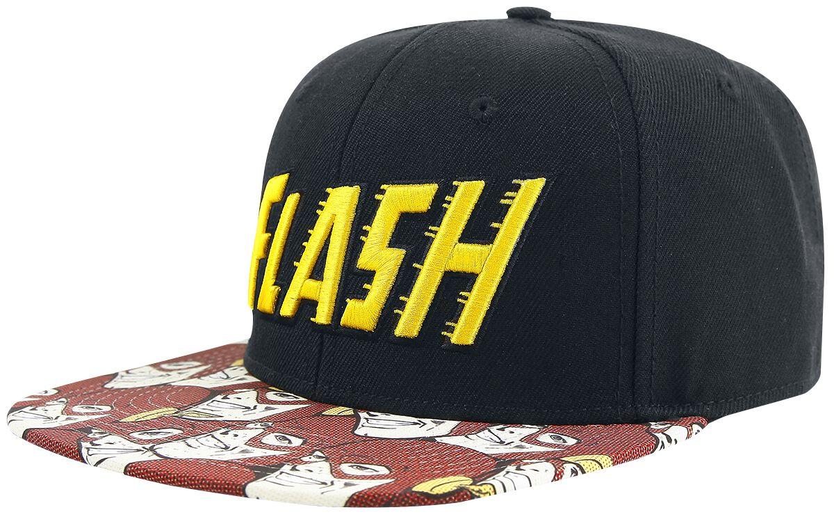 Merch dla Fanów - Czapki i Kapelusze - Czapka Snapback The Flash Logo Czapka Snapback czarny - 360005